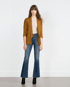 ZARA - COLLECTION AW15 - KNITTED CARDIGAN