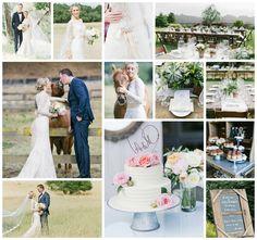 Inspirational Wedding Ideas #246: Elegant Rustic Ranch Wedding - http://www.diyweddingsmag.com/inspirational-wedding-ideas-246-elegant-rustic-ranch-wedding/