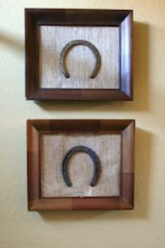 I would love this if the horse shoes were the right way up! add horses name perhaps? for tack room