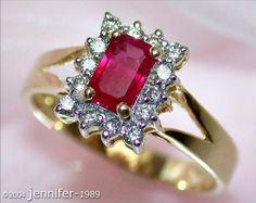 Fine ruby diamonds Ring