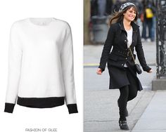 Thanks fashionbyeleanor! A.L.C. Alice Two-Tone Boat-Neck Sweater - $96.00 (65% off!) Worn with: Free People beanie, Zara coat, Marc by Marc Jacobs bag, DV by Dolce Vita boots