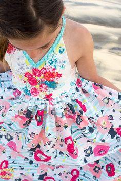 Annie Dress Pattern by Violette Field Threads