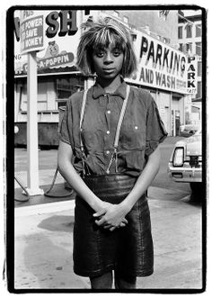 Diane Arbus young african american teenager