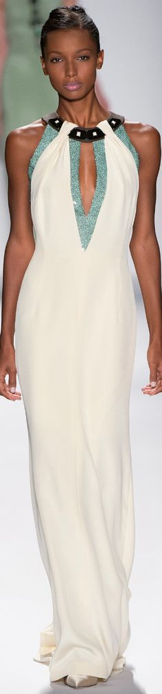 NYFW 2014 SPRING Ready-To-Wear...Carolina Herrera