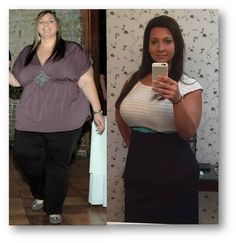 Here's my before & after/in progress pic! 16 months later - down 180 lbs!
