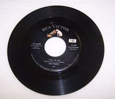 Elvis Presley 45 RPM Record RCA 47-6420 Heartbreak Hotel I was The One #RocknRoll