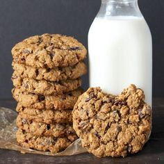 Big and Chewy Oatmeal Cookies - Powered by @ultimaterecipe