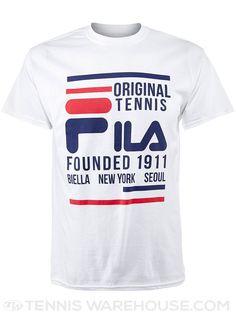 Fila Men's Original Tennis T-Shirt