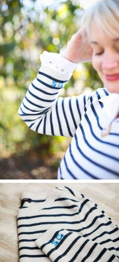 Weekend DIY   Make Your Own Monogrammed Sweater (Plus 5 More Ideas)
