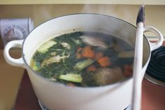 Orangette: Sopa de pollo Inspired by La Carta de Oaxaca, and with help from Pedro Zamudio-Perez
