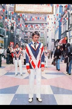 Paul Weller - Carnaby Street, London England