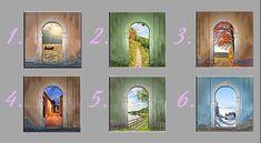 Zvolte si dveře a poznejte svou budoucnost Nordic Interior, Feng Shui, Astrology, Life Is Good, Reiki, Zodiac, Frame, Mantra, Style