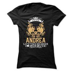ANDREA . Team ANDREA Lifetime member Legend  - T Shirt, - #boyfriend tee #rock tee. TAKE IT => https://www.sunfrog.com/LifeStyle/ANDREA-Team-ANDREA-Lifetime-member-Legend--T-Shirt-Hoodie-Hoodies-YearName-Birthday-Ladies.html?68278