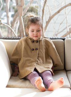 gorgeous handmade wool cape