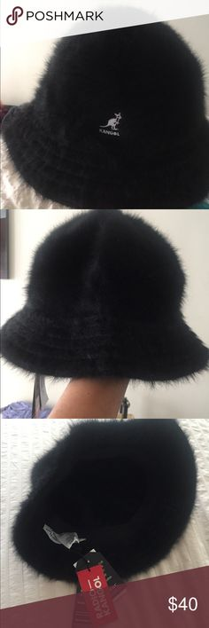 Kangol hat New, never used, real fur, has its ticket. Kangol Accessories Hats