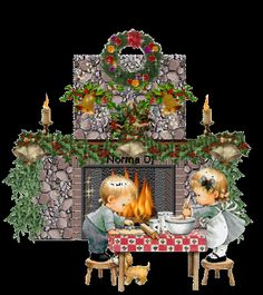 Free Animated Christmas pictures   Animated Christmas Greetings Beautiful Christmas Scraps