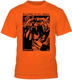 CINCINNATI BENGALS WELCOME TO THE JUNGLE TEE