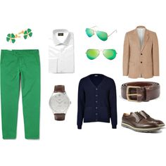 """Wearing of the Green"" by mfr125 on Polyvore"
