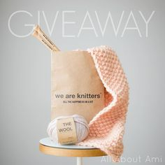 GIVEAWAY ALERT!!!  The crafty people at @WeAreKnitters want to give YOU the chance to win your very own kit- they have both knit and crochet kits available!  You can read my blog post about the gorgeous scarf I made on the blog and see what comes in their kits!  To enter this GIVEAWAY:  Follow @AllAboutAmi & @WeAreKnitters  Leave a comment below telling us which kit and what wool colour you would choose and why (any kit valued up to $100)!  Bonus entries: Tag a friend who might be interested…