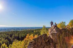 Billingen mountain next to Skövde is exploding in autumn colors. ... On assignment for @nextskovde. #autumn #sweden #visitsweden #swedishmoments #västsverige #westsweden #westschweden #ig_sweden