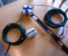 This project gives instruction on how to build my version of the G5RV wire antenna that is used on the 10-40 Meter Ham Radio bands (28MHZ to 7MHZ). The history and basic theory of this antenna dates back to 1946. It was invented by Louis Varney. More technical information can be found at the following link .I WOULD STRONGLY ENCOURAGE YOU TO READ THIS LINK and vew it's contents including the diagram so that you have a mental image of where we are headed. http://www.qsl.net/yb0emj/t...