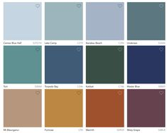 pantone 2020 color trends 2020 2021 COLOR TRENDS Top palettes for interiors and decor Top Paint Colors, Popular Paint Colors, Interior Paint Colors, Paint Colors For Home, Exterior House Colors, Exterior Paint, Exterior Design, Colorful Decor, Colorful Interiors