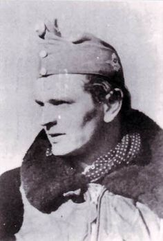 Lt. Ferenec Malnassy, WWII Hungarian ace with 11 individual victories and 1 shared.