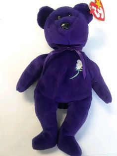 7de94509819 TY 1997 RETIRED BEANIE BABY PRINCESS DIANA 1ST EDITION MINT CONDITION MAKE  OFFER  Ty