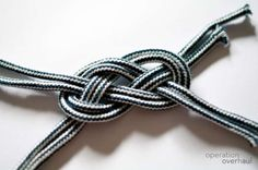 Your knot is done!