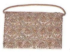 Lot 284: An evening bag in a silver and gold Indian-style pattern. From the personal property of Marilyn Monroe.