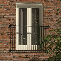 Antique Wrought Iron Juliet Balcony For Sale On Salvoweb