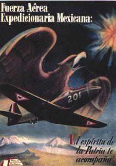 """La Segunda Guerra Mundial • Escuadrón Mexicano 201 / Águilas Aztecas """"Aguilas olvidadas"""" - 201st Mexican Fighter Squadron"""