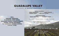 Alistan en Ensenada el Guadalupe Valley Cullinary & Music Festival