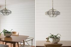 Create a beautiful focal wall in your house by adding tongue and groove planks and painting it to match your decor.