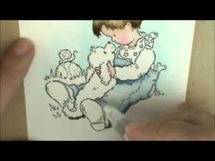 Heathery's Hobbie Haven; love her Copic coloring videos. Subscribed to channel!