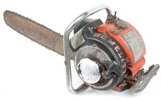 Homelite 26LCS Vintage Chainsaw- this was the second chainsaw that homelite ever made. LCS- Large Chain Saw