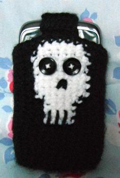 skull phone case