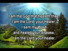 I AM THE GOD THAT HEALETH THEE, via YouTube.