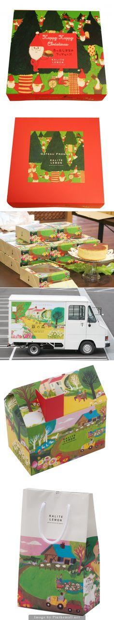 p07/(株)銀しゃり本舗 「銀の森」 KALITE LEMON クリスマスパッケージ assorted #packaging PD