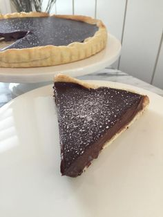 The most incredible Victorian  Chocolate Tart you have ever eaten. thefoodnanny.com