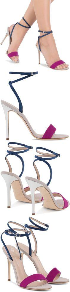 'Georgina' Colorblock High Heel Sandals