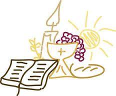 dibujos de cruz y caliz primera comunion