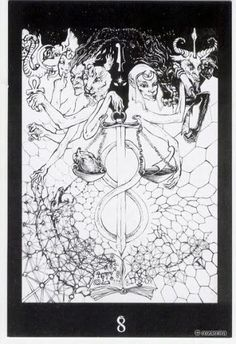 Book of Kaos Tarot by Orryelle Defenestrate-Bascule