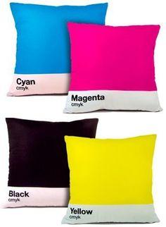 CMYK Pillows!