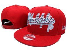 PHILADELPHIA PHILLIES NEW ERA SNAPBACK HATS - RED 375
