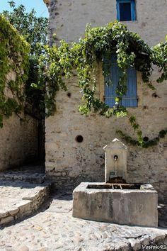 Vaison-la-Romaine,France.