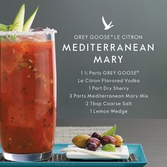 The classic Bloody Mary takes a flavorful turn when followed through with basil and oregano. #FlyBeyond