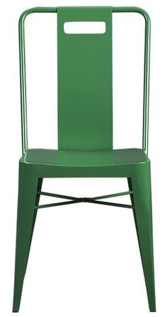 Ming Green Side Chair Crate & Barrel