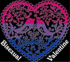 bisexual-community:  ♥ Bisexual Valentine ♥