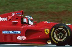 mybestcars: Alesi - Brasil - 1994 If you like it share it. Ferrari Scuderia, Ferrari F1, Lamborghini, Sport Cars, Race Cars, Brazilian Grand Prix, Gilles Villeneuve, Formula 1 Car, Car And Driver